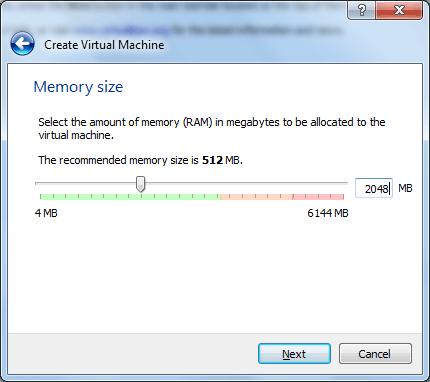 RAM-Virtual-Box