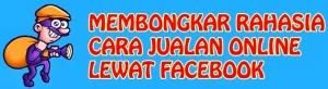 rahasia cara jualan online di facebook - banner