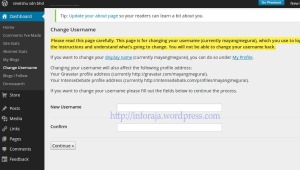 cara ubah url wordpress.com copy