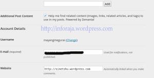 ubah url blog