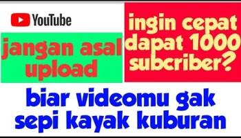 Cara Mempromosikan Video Youtube Gratis Terbaru 2020 Rajacolek Blumbungan